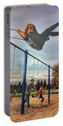 Child On Swing Portable Battery Charger