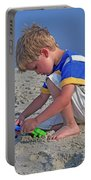 Childhood Beach Play Portable Battery Charger