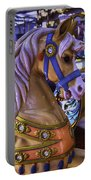 Childhood Carrousel Ride Portable Battery Charger