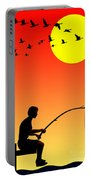 Childhood Dreams 3 Fishing Portable Battery Charger