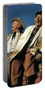 Chill Wills And Andy Devine Singing Atop A Stagecoach Old Tucson Arizona 1971 Portable Battery Charger
