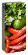 Chillies And Limes Portable Battery Charger