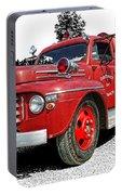 Chilliwack Fire- Mercury Firetruck Portable Battery Charger