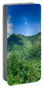 Chimney Tops Mountain In Great Smoky Mountains  Portable Battery Charger