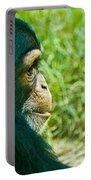 Chimpanzee Profile Portable Battery Charger