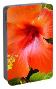 China Camp Hibiscus Portable Battery Charger