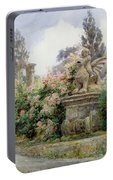China Roses Villa Imperiali Genoa Portable Battery Charger