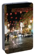 China Town At Night Portable Battery Charger