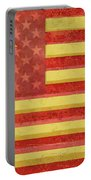 Chinese American Flag Blend Portable Battery Charger