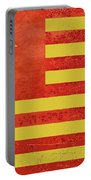 Chinese American Flag Portable Battery Charger by Tony Rubino