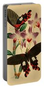Chinese Butterflies Portable Battery Charger by Philip Ralley