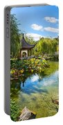Chinese Garden Lake Portable Battery Charger