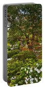 Chinese Garden View Portable Battery Charger