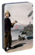 Chinese Gentleman, From A Picturesque Portable Battery Charger