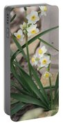 Chinese Sacred Lily Portable Battery Charger