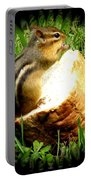 Chipmunk Saying Grace Portable Battery Charger