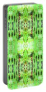 Chive Abstract Green Portable Battery Charger