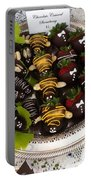 Chocolate Berries Portable Battery Charger
