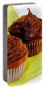 Chocolate Cupcakes Portable Battery Charger