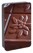Chocolate Flower  Portable Battery Charger
