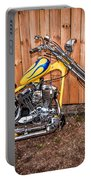 Chopper Custom Built Harley Portable Battery Charger