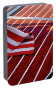 Chris Craft With American Flag Portable Battery Charger
