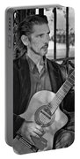 Chris Craig - New Orleans Musician Bw Portable Battery Charger