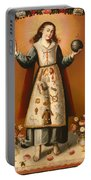 Christ Child With Passion Symbols Portable Battery Charger