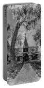 Christ Church Etching Portable Battery Charger by Debra and Dave Vanderlaan