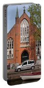 Christ Church Of England In Amsterdam Portable Battery Charger