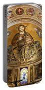 Christ In Majesty  Pisa Duomo Portable Battery Charger by Liz Leyden