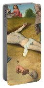 Christ Nailed To The Cross Portable Battery Charger