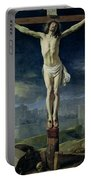 Christ On The Cross Portable Battery Charger