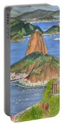 Christ The Redeemer Portable Battery Charger