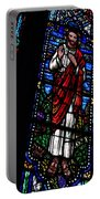 Christ Window Portable Battery Charger