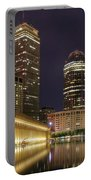 Christian Science Center-boston Portable Battery Charger by Joann Vitali