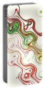 Christmas Abstract Portable Battery Charger