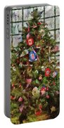 Christmas - An American Christmas Portable Battery Charger by Mike Savad
