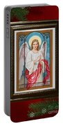 Christmas Angel Art Prints Or Cards Portable Battery Charger