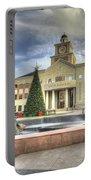 Christmas At Sugar Land City Hall Portable Battery Charger