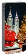 Christmas At Temple Square Portable Battery Charger