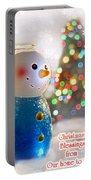 Christmas Blessings Portable Battery Charger