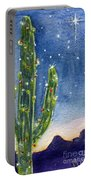 Christmas Cactus Portable Battery Charger