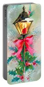 Christmas Candle Portable Battery Charger