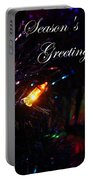 Christmas Card 1 Portable Battery Charger