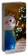 Christmas Card II Portable Battery Charger