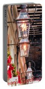 Christmas Card New Orleans Portable Battery Charger