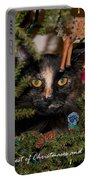 Christmas Cat Portable Battery Charger