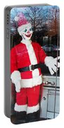 Christmas Clown Portable Battery Charger