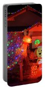 Christmas Decorations At Residential Portable Battery Charger